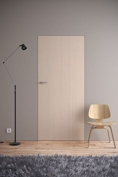 Drzwi - Drzwi z ukrytą ościeżnicą - Asilo - drzwi: wewnetrzne, zewnetrzne, antywlamaniowe, serwis, okna Apartment Interior, Interior Walls, Interior And Exterior, Minimalist Interior, Modern Interior, Interior Architecture, Porte Design, Door Design, Window Design