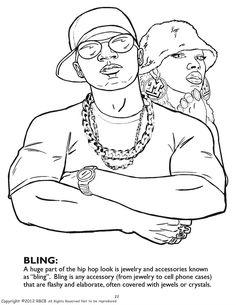 Bun B\'s Jumbo Coloring and Rap Coloring Book | In Living Color ...