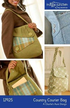 Country Courier Bag Sewing Pattern