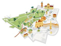 I recently created this map of the Vatican City for SAS inflight magazine - Scanorama.