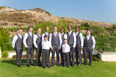 The Groomsmen, look at that beatufull cloudless sky