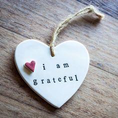 3 magic words: I am grateful. ❤
