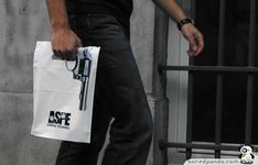 ASPE Crime Stories Bag - This bag was given when you bought a book by Belgium's most famous crime-writer.