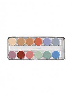 Kryolan Supracolor 12-Color Palette