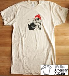 Life Aquatic Steve Zissou Bill Murray American Apparel Shirt by SuperSweetShirts on Etsy https://www.etsy.com/listing/156562584/life-aquatic-steve-zissou-bill-murray
