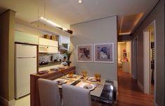 Cozinha e sala decoração decor estilo