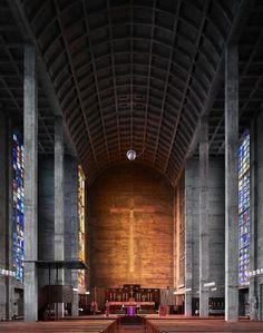 Modern Interiors of Church6