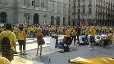 26/09/2012 Pl. Sant Jaume - BCN - Concentració Street View