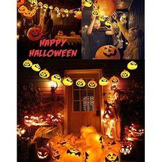Halloween Pumpkin Lights Jack o Lanterns Home Decor Parties Events Gift NEW    #GiBot