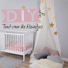 ⭐️DIY – Children's tent - Famous Last Words Baby Bedroom, Baby Room Decor, Nursery Room, Girls Bedroom, Child's Room, Diy Zelt, Childrens Play Tents, Baby Room Design, Girl Room