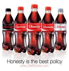 coke obesity, diabetes | If advertising was honest. Check out less honest Coca-Cola ads.