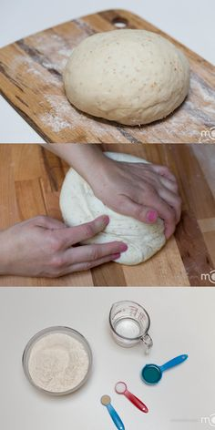 Perfectly thin pizza dough just like one in Italy. An easy step by step photo recipe.