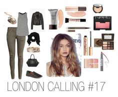 """""""LONDON CALLING #17"""" by modernlovephoto on Polyvore featuring Viktor & Rolf, H&M, Hourglass Cosmetics, Splendid, MILK MAKEUP, Becca, Smashbox, Too Faced Cosmetics, Halogen and Sephora Collection"""
