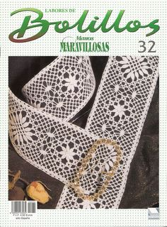 Album Archive - Revista Bolillos Nº 32 Knitting Books, Crochet Books, Knit Crochet, Crochet Dollies, Crochet Flowers, Bobbin Lace Patterns, Crochet Patterns, Bobbin Lacemaking, Crochet Magazine