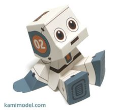 tons of paper templates for robots and other figures (pdf's are self explanatory, even though web site is not in english)