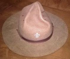 Vintage Boy Scouts Campaign Hat. Good Condition as per Pictures.