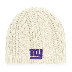 Amazon.com   NFL New York Giants Women s Waco OTS Beanie Knit Cap 5a2134996