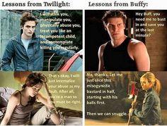 Buffy vs Twilight