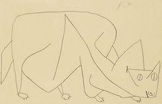 Paul Klee (1879-1940)  groeide op in een muzikale familie, was zelf violist maar koos toch voor de beeldende kunst. Paul Klee begon al vroeg met viool spelen en toen hij 11 jaar was werd hij al lid van een groot orkest! Daarbij tekende en dichtte hij ook nog maar zijn ouders schonken niet veel aandacht aan zijn tekentalent.