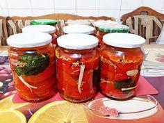 Gogosari crocanti in otet! - YouTube Salsa, Jar, Youtube, Food, Canning, Eten, Jars, Meals, Salsa Music