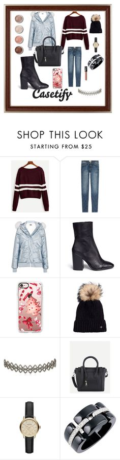 """Bez naslova #563"" by arijana-cehic ❤ liked on Polyvore featuring Current/Elliott, Topshop, Ash, Casetify, Bogner, Assya London, Burberry, Chanel, NARS Cosmetics and Terre Mère"