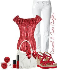 Red and White Objects | Red and white