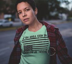 The Distressed Flag Tee Shirt – TeeRump Tees