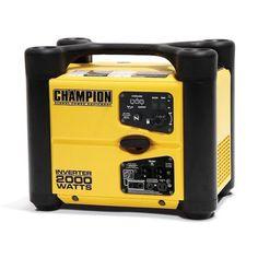 Champion 2000 Watt Portable Inverter Generator - Super Quiet!