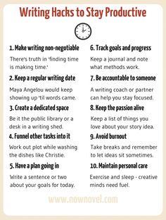Writing hacks: 10 rules to keep writing motivation up Creative Writing Tips, Book Writing Tips, Writing Words, Academic Writing, English Writing, Fiction Writing, Writing Quotes, Writing Resources, Writing Help