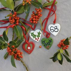 68 Days till Christmas. Little hearts to love.