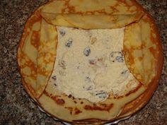 Bucataria Irinei...: Clatite cu branza si smantana la cuptor Desert Recipes, Deserts, Food, Postres, Dessert Recipes, Dessert, Plated Desserts, Desserts