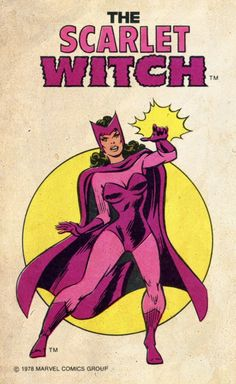 The Scarlet Witch - 1978 Marvel