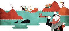 illustration #1 [some personal stuff] by Daniele Simonelli, via Behance