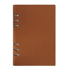 Loghot PU Refillable Business Round Ring Binder Cover Notebook 80 Sheets Ruled Filler Paper A6 6Ring Brown *** See this great product.