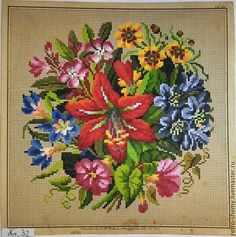 ru / Photo # 1 - * - natashakon Source by Mini Cross Stitch, Cross Stitch Flowers, Cross Stitch Charts, Cross Stitch Patterns, Hand Embroidery Patterns Flowers, Simple Embroidery, Cross Stitching, Cross Stitch Embroidery, Fairy Coloring Pages