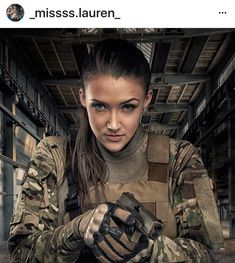 The Most Beautiful Military Girl Photos Gallery Lauren Young, Badass, Military Girl, Female Soldier, Army Soldier, Girls Uniforms, Military Women, Military Female, Airsoft