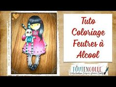 Tuto Feutres à alcool et Gorjuss - YouTube Spectrum Noir, Magnolia, How To Make Money, Couture, Crayon, Blog, Diy, Jelly Beans, Coloring Pages