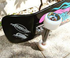 Instagram #skateboarding photo by @markan.igor - #santacruz #santacruzslasher #independent #independenttrucks #ojswheels #ojs #bronsonspeedco #skateboard #skateboarding. Support your local skate shop: SkateboardCity.co