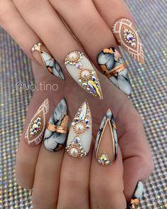 Cute Nail Art Designs, Nail Pro, White Glitter, Stylish Nails, Gorgeous Nails, Nail Trends, Top Coat, Beauty Nails, Cute Nails