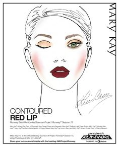 #ClippedOnIssuu from Project Runway Red Lip Look