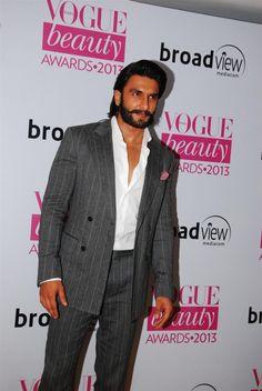 Ranveer Singh at Vogue Awards 2013.