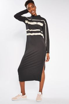 Striped Dress by Adidas Originals - New In- Topshop Europe