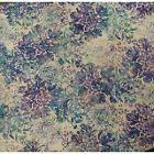Hoffman Fabrics Bali Batik Floral Pastel~N2817-135~Cotton Fabric