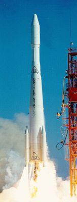 14 December 1966 first flight #flighttest of the Delta G rocket