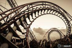 Sprial Rollercoaster- Nara Dreamland Japan