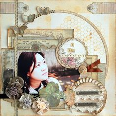 Scrapbook Blog | The Crop Spot | I Am Imperfect by scrapperlicious  - step by step how to