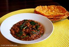 Etiopialainen linssipata ja porkkana-flatbread (G) — Sat Nam Nam