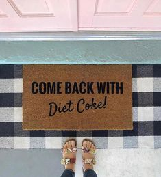 Anyone else's home or porch feel totally naked now without all the holiday cheer?🙊 ⁣<br>⁣<br>TAG a Diet Coke loving buddy🥤🙌🏼 ⁣<br>⁣<br>⁣<br> Backsplash Wallpaper, Wood Wallpaper, Front Door Accessories, Peel And Stick Shiplap, Striped Accent Walls, Front Door Mats, Front Doors, Mold In Bathroom, Painting Concrete