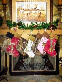 #DIY Realtree Color Camo Stockings or you might buy them.