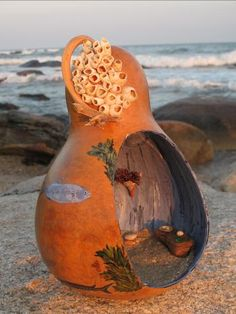 Enchanted Gourds Fairy Houses